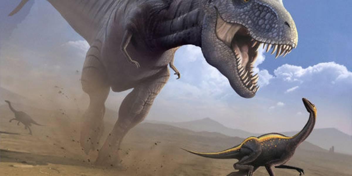El sanguinario propósito de los bracitos cortos del Tiranosaurio Rex