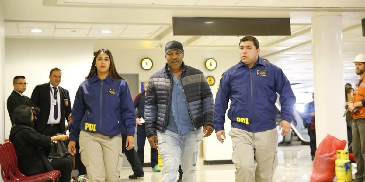 Increíble: Mike Tyson fue deportado de Chile por no cumplir reglas de aduana