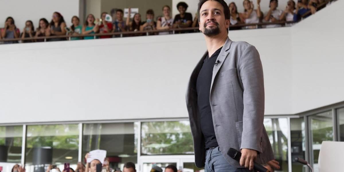 Lin-Manuel Miranda presentará Hamilton en Puerto Rico