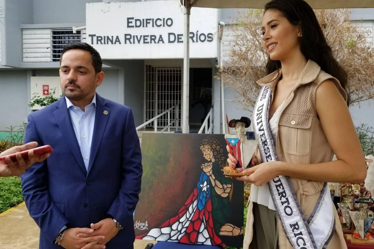 Erik Rolón y Danna Hernández. Fotos: Edgar Fernández/ Prensa Corrección