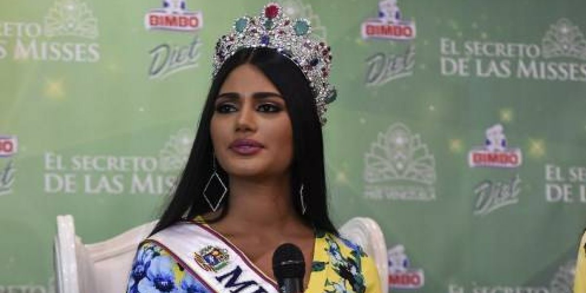 """Miss Venezuela llama a denunciar acoso sexual: """"Lo principal debería ser denunciarlo"""""""