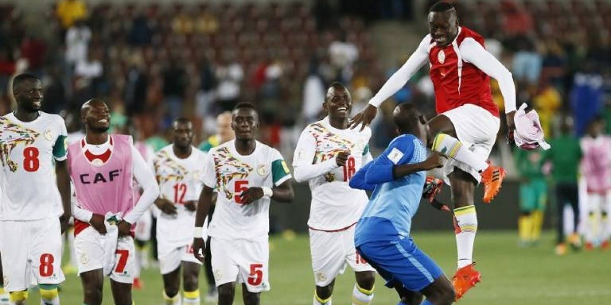 Senegal venció a Sudáfrica y se unió a los clasificados a Rusia 2018