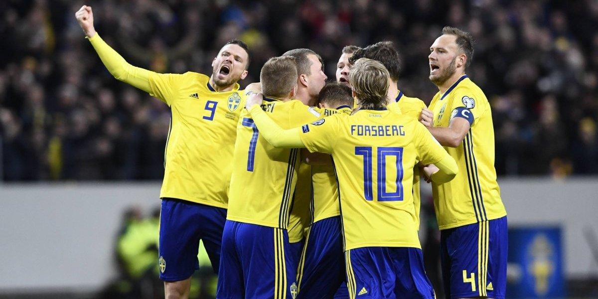 Italia perdió ante Suecia y peligra su opción de clasificar a Rusia 2018