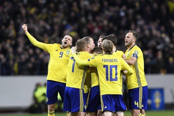 Los suecos dejaron temblando a Italia / imagen: AFP