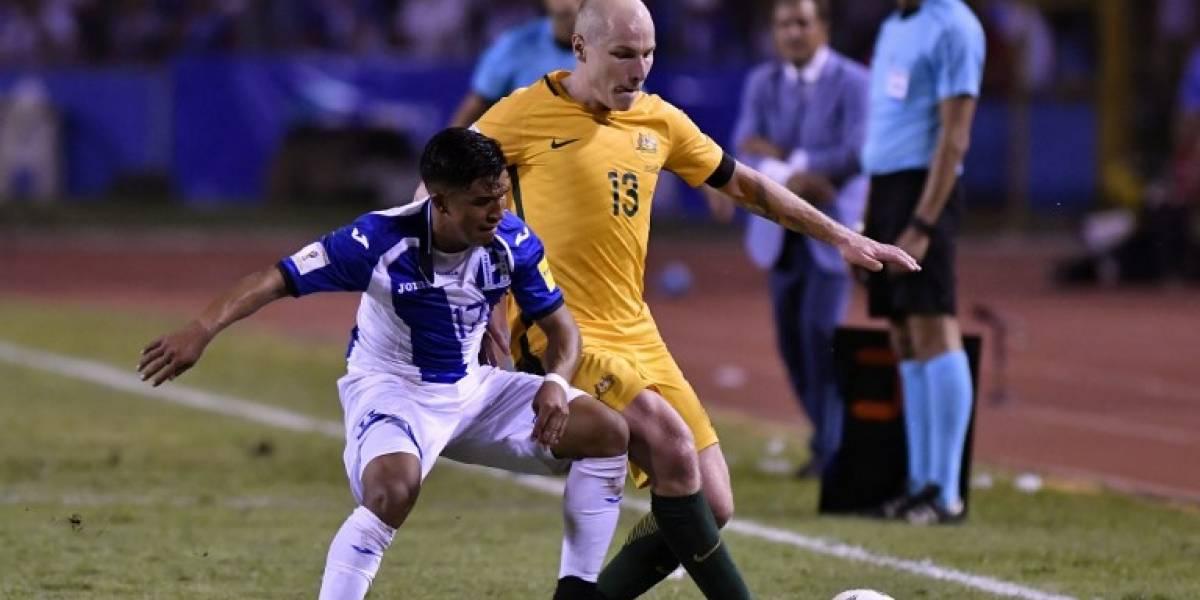 Rusia 2018: Australia toma ventaja al empatar 0-0 en casa de Honduras