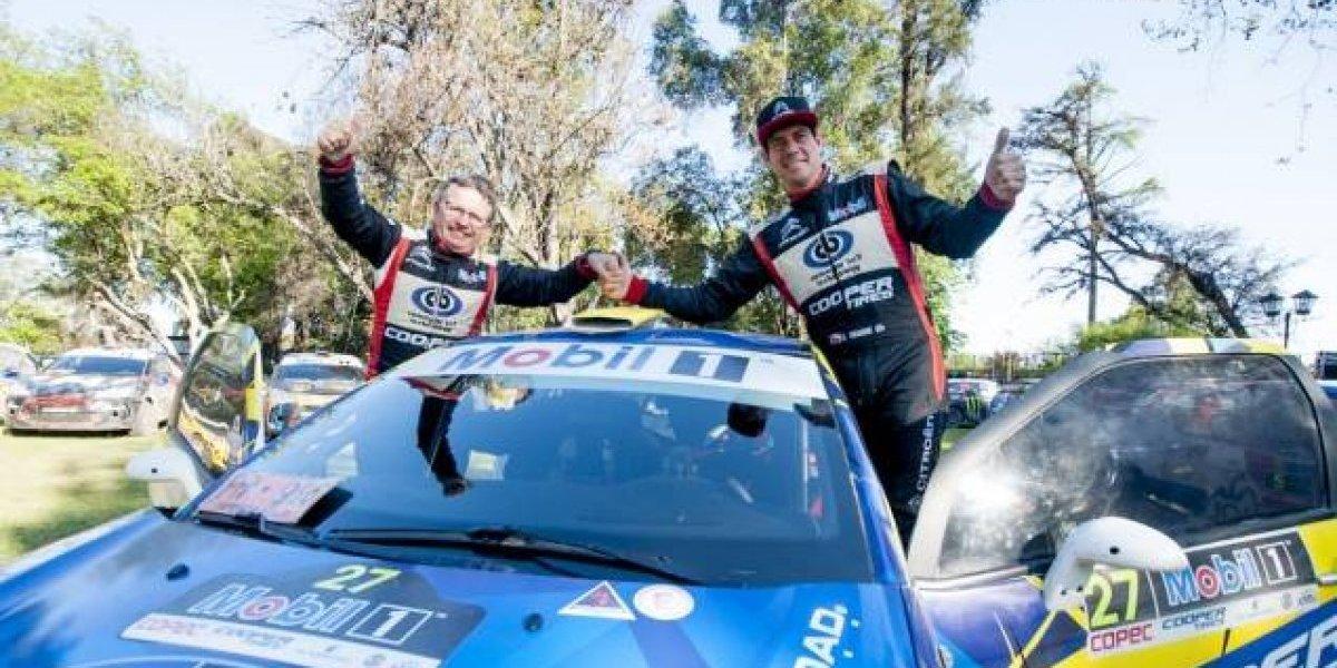 Cristóbal Vidaurre se proclamó campeón del RallyMobil 2017