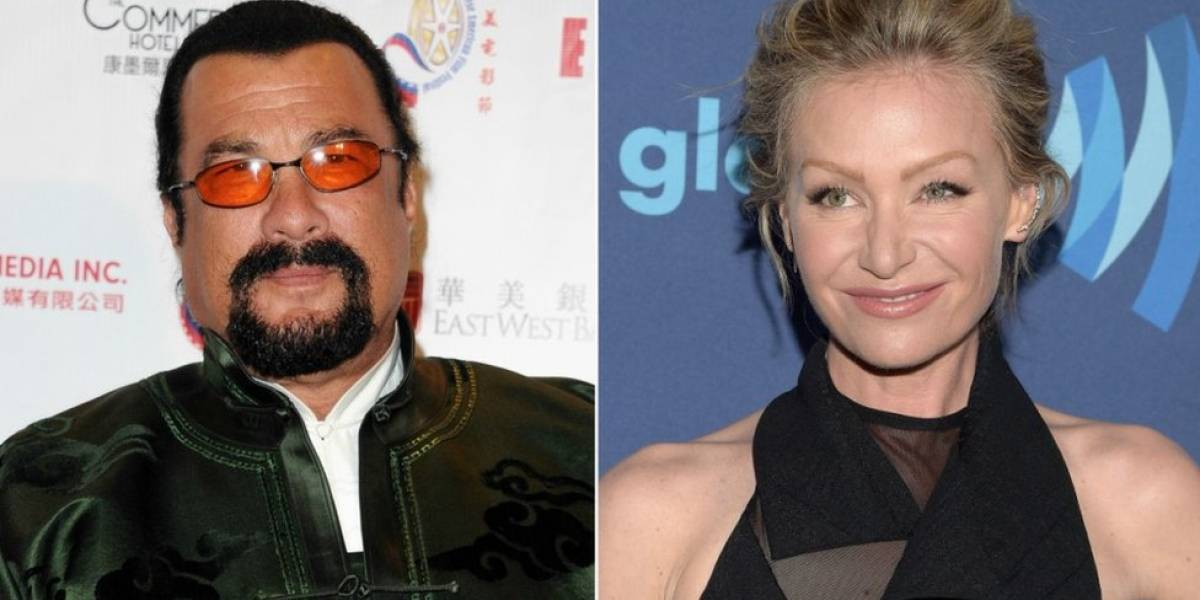 Portia de Rossi, esposa de Ellen DeGeneres, acusa al actor y productor Steven Seagal de acoso sexual