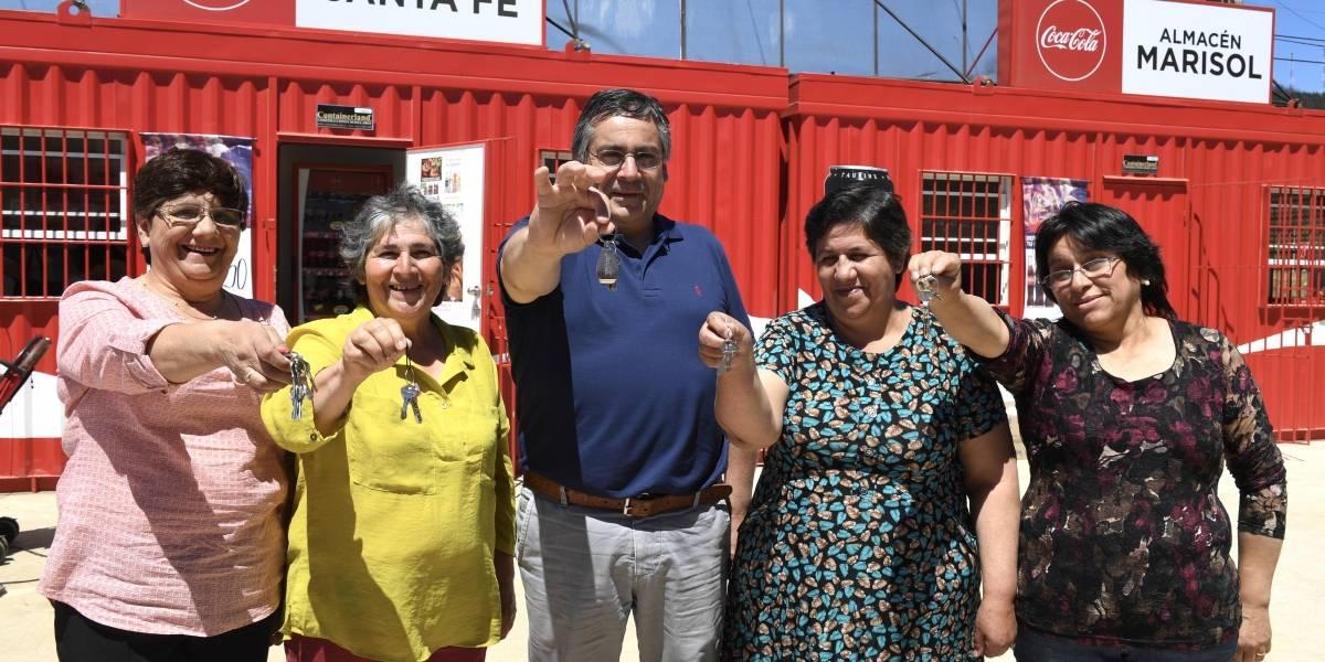 Lanzan plan de reconstrucción y apoyo a comerciantes en Santa Olga