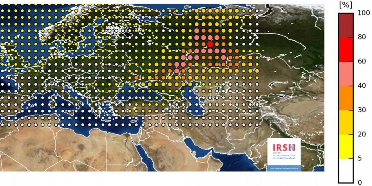 Accidente nuclear en Rusia elevó la radiactividad en Europa
