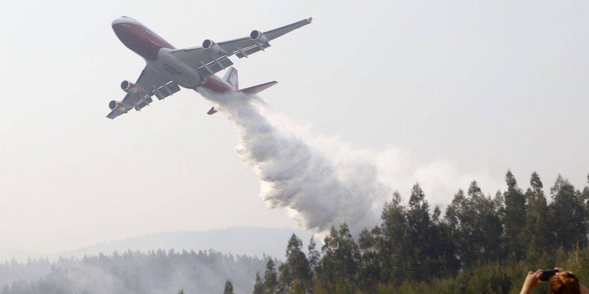 """¿El regreso del """"SuperTanker""""? Gobierno anunció que gestiona el retorno del avión para combatir incendios"""