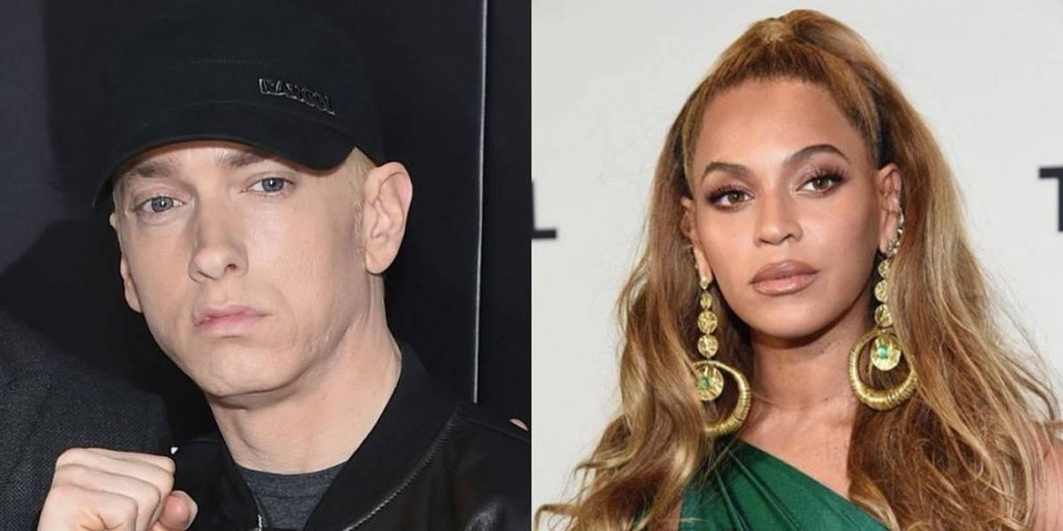Eminem mistura seu rap com vocal poderoso de Beyoncé; ouça aqui