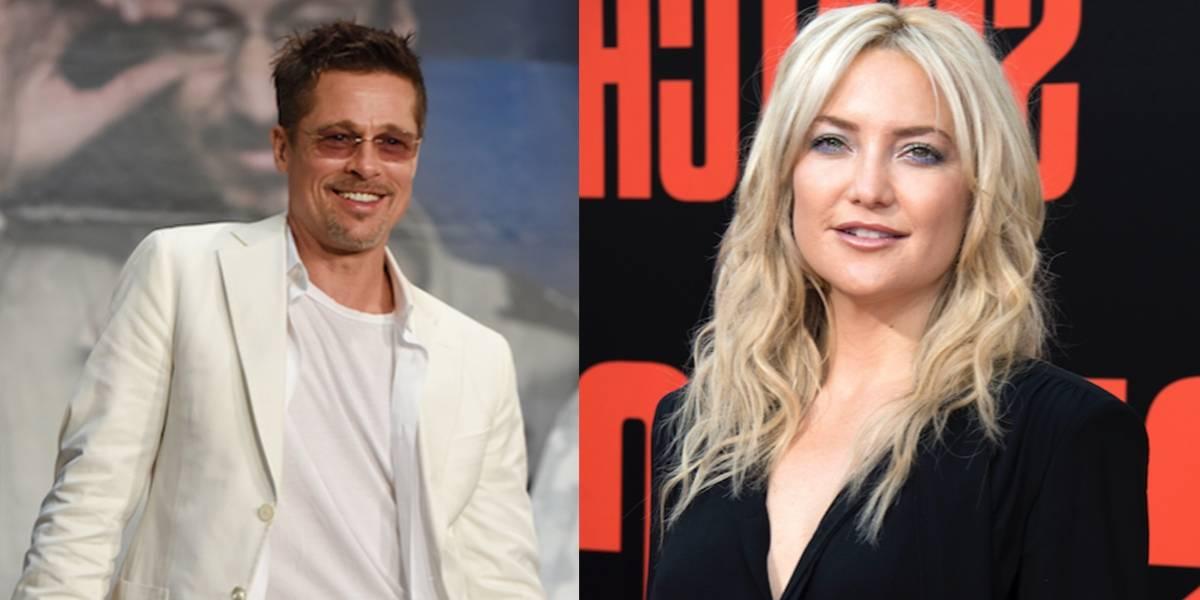 Kate Hudson habla de su romance con Brad Pitt