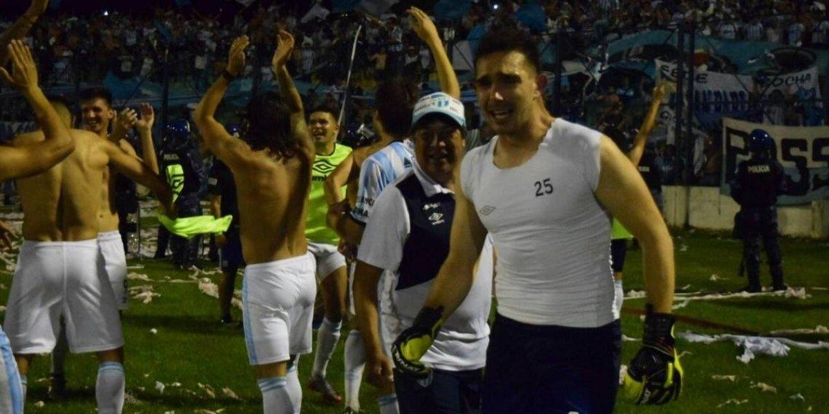 El Oso Sánchez fue el verdugo del Poncho Parot en las semis de la Copa Argentina