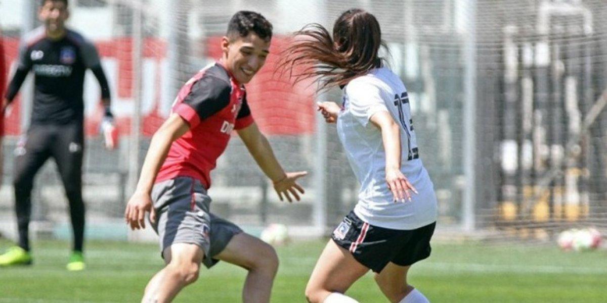 Se supo todo: Jugador de Colo Colo se enfrentó a su novia en histórico partido con las Albitas