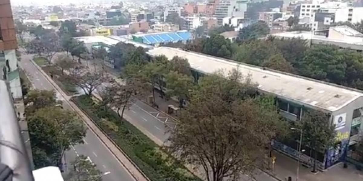 ¡Atención! Fuertes disturbios a esta hora en el norte de Bogotá
