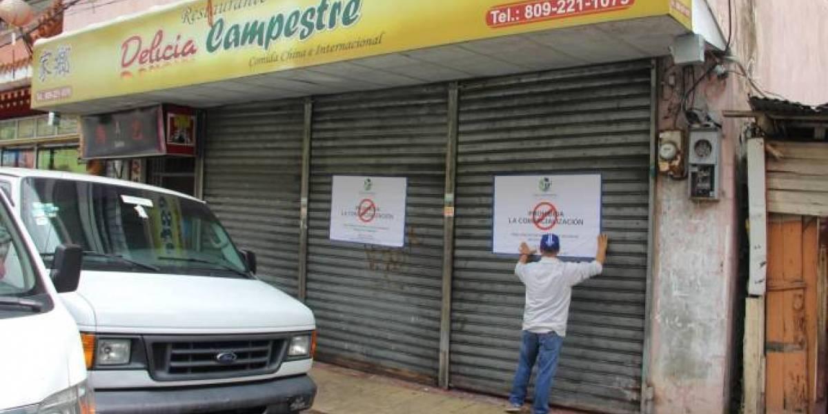 """Pro Consumidor cierra el restaurante """"Delicias Campestre"""" por hallazgo de plagas en alimentos ofertados al público"""