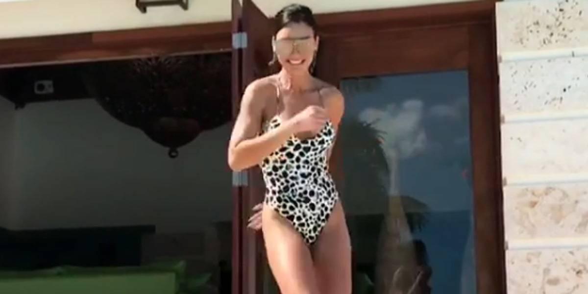 Modelo do clipe de Despacito arrasa em coreografia publicada no Instagram; confira