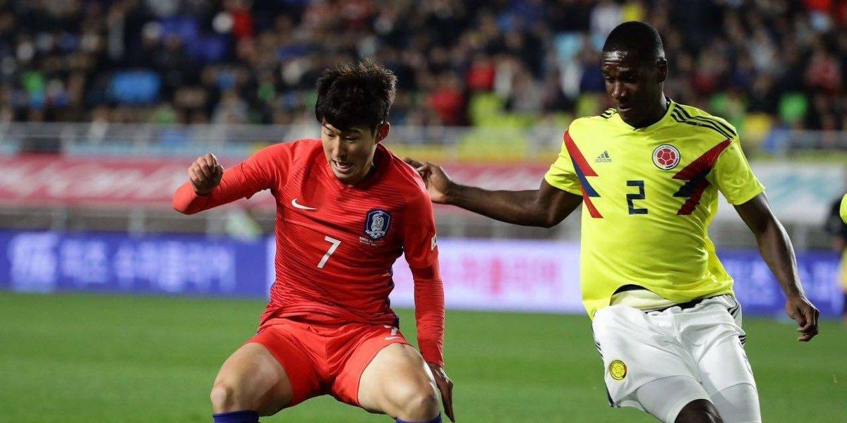 Colombia sucumbe ante la velocidad de Corea del Sur en su primer apronte para Rusia 2018