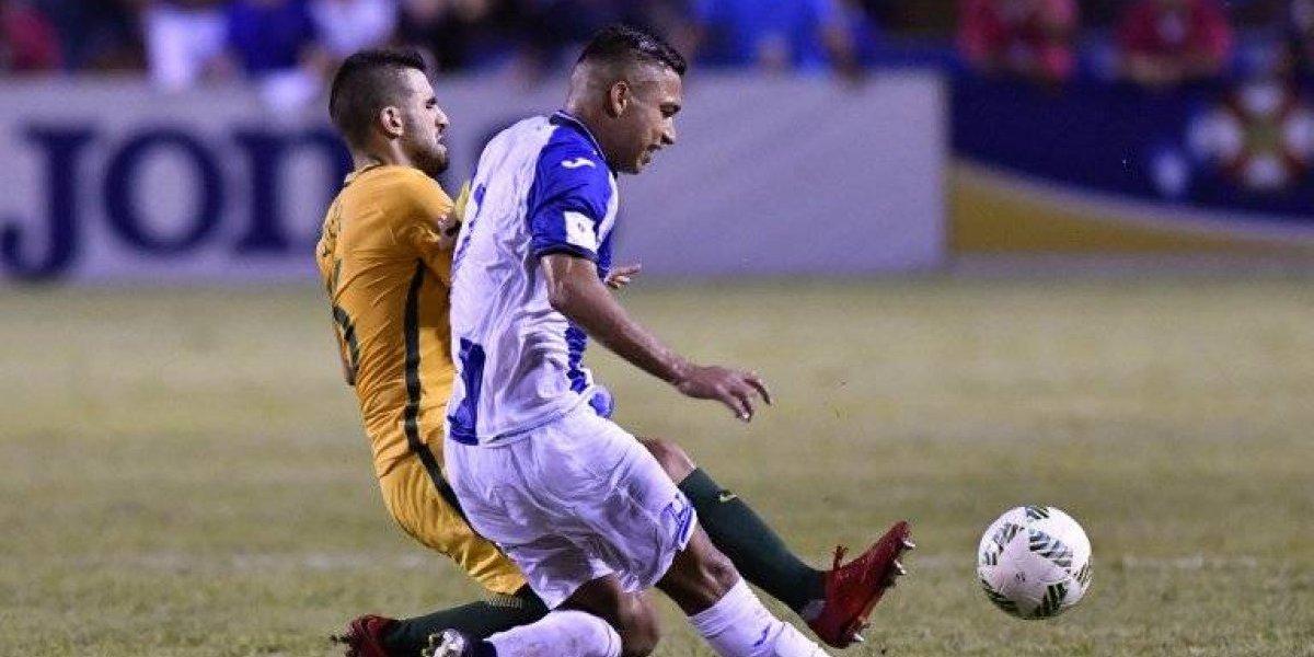 Honduras no puedo con Australia y el partido de vuelta será el decisivo