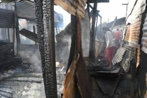 Incendio en asentamiento en zona 3