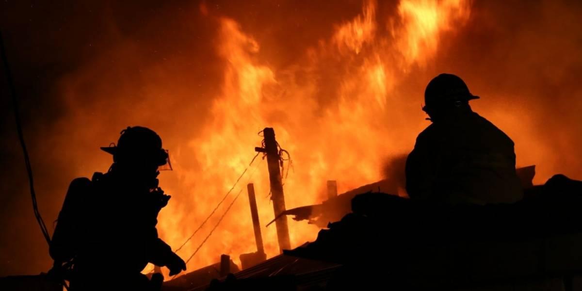 Incendio en zona 3 deja a 75 familias afectadas
