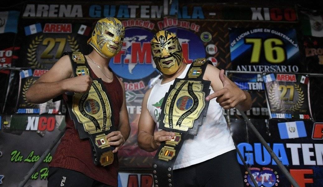 Voltron y el Hijo de Voltron protagonizarán la pelea estelar de este domingo. / Foto: Omar Solís.