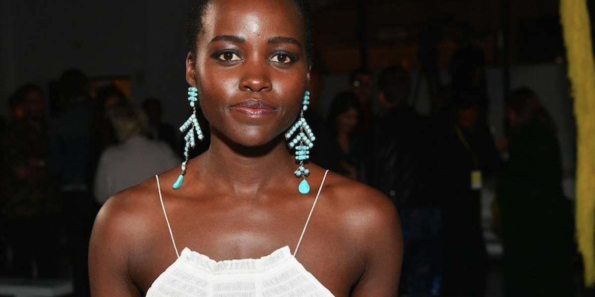 Lupita Nyong'o critica a revista por editar su cabello
