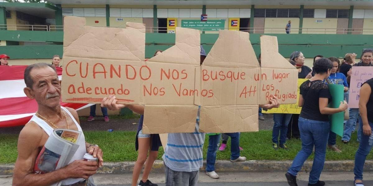 AMPR se une a reclamo de padres y refugiados en escuela de Corozal