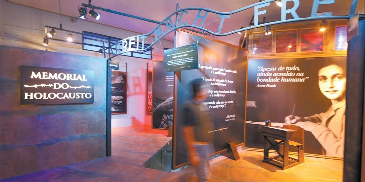 Memorial do Holocausto será aberto domingo em São Paulo