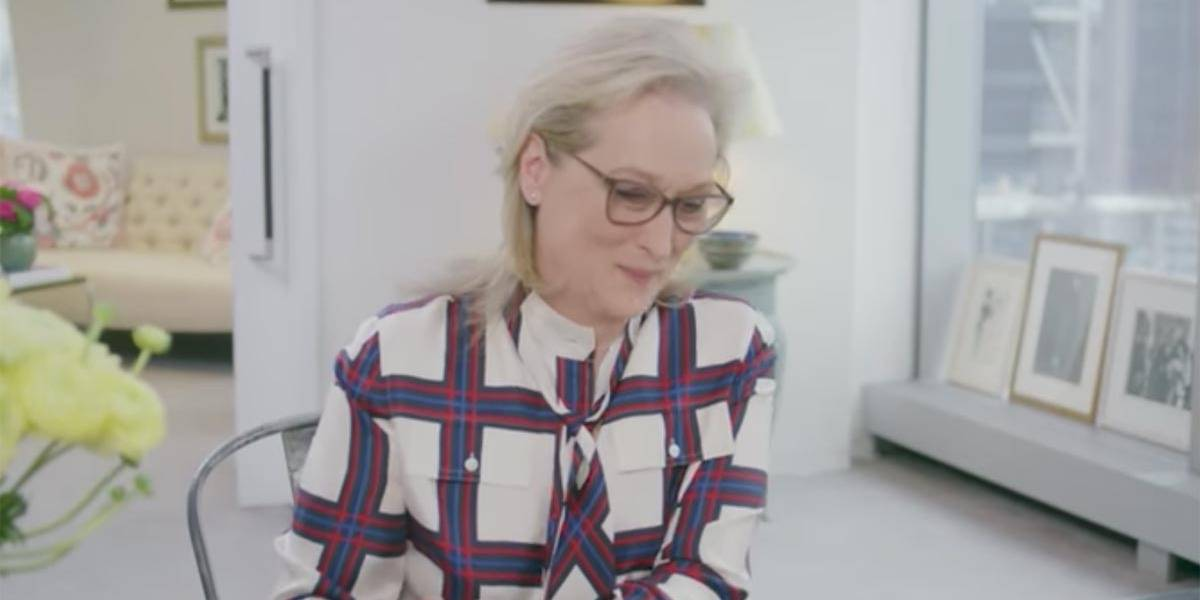 Meryl Streep recria cena de 'O Diabo Veste Prada' para divulgar 'Vogue América'