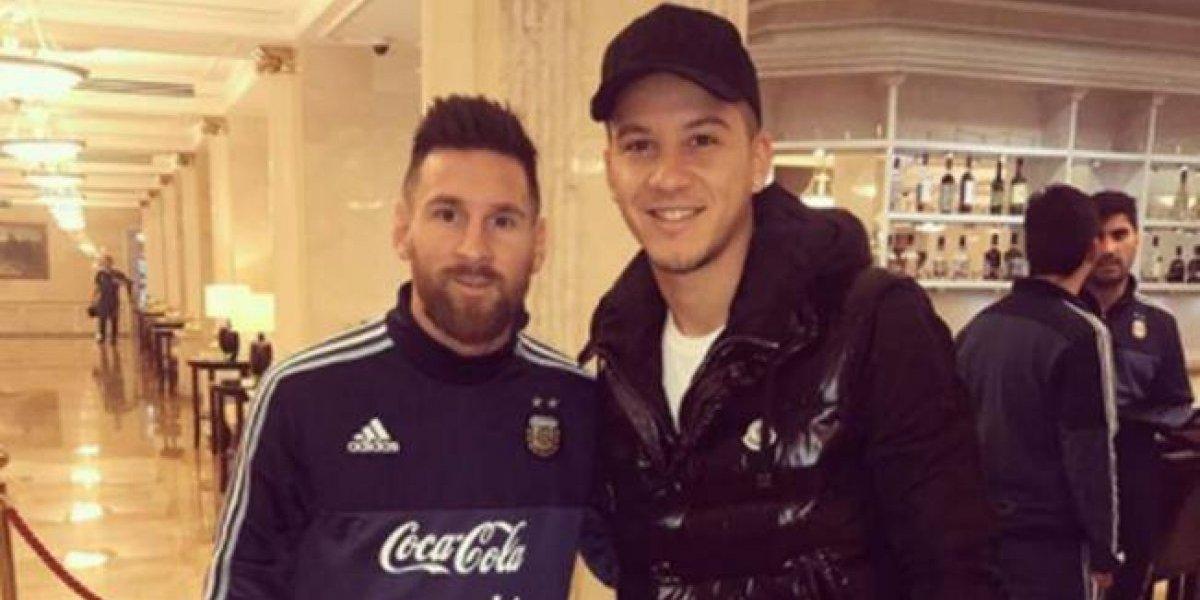 Messi no reconoció a uno de sus compañeros dentro de la selección