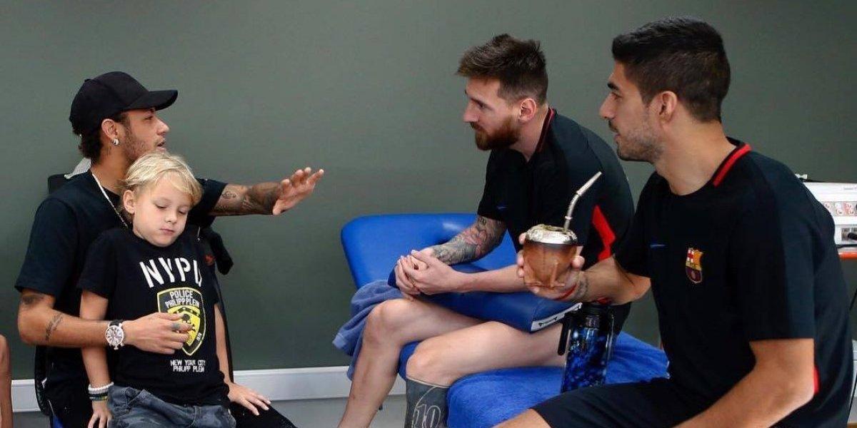 ¿Me aceptarían de vuelta?: Neymar