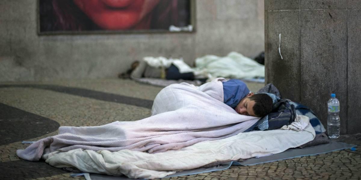"""Aseguran que los quieren """"rehabilitar"""": Ciudad india retira a personas en situación de calle ante la llegada de Ivanka Trump"""
