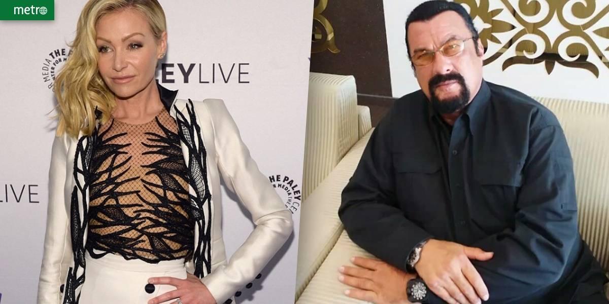 Esposa de Ellen DeGeneres diz ter sofrido assédio sexual de Steven Seagal