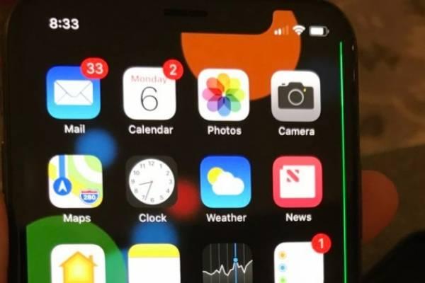 iPhone X línea
