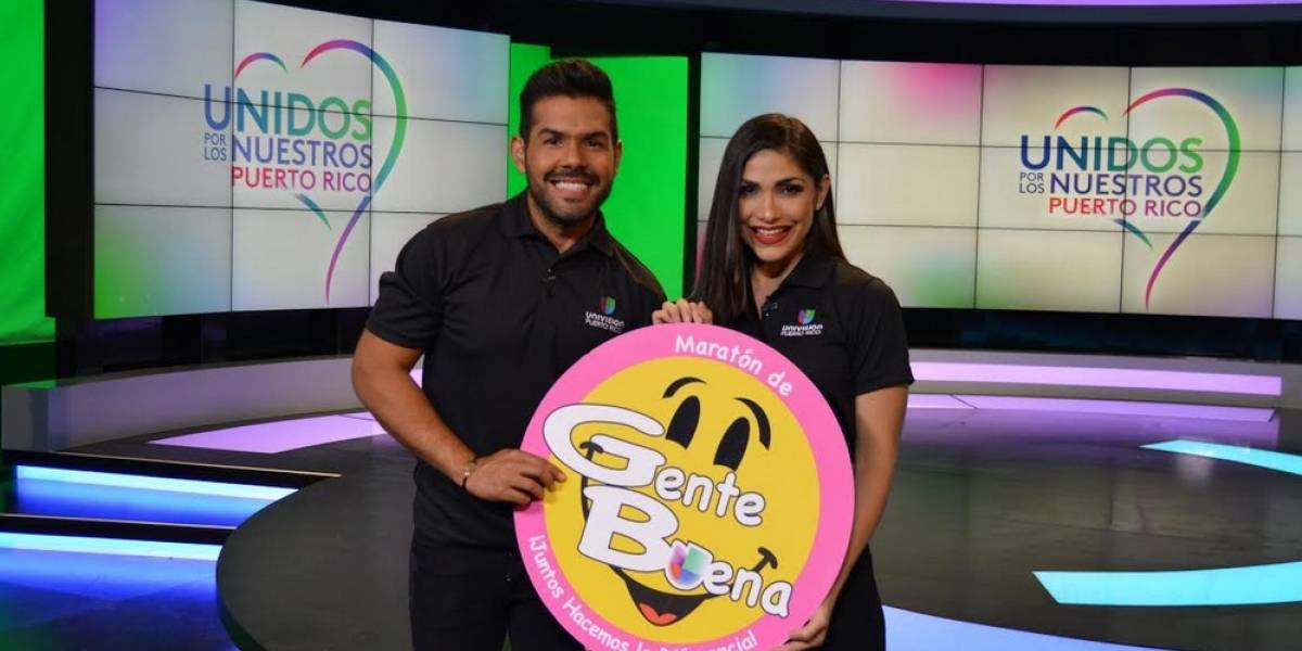 Univision lleva maratón de alegría y esperanza