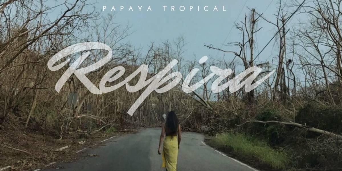 "Papaya Tropical presenta ""Respira"" en colaboración con la Fundación Buena Vibra"