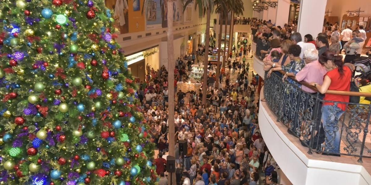 Plaza Las Américas inicia sus actividades navideñas
