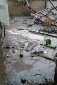 La residencia de los jóvenes, luego del paso del huracán María sobre Puerto Rico. / Suministrada