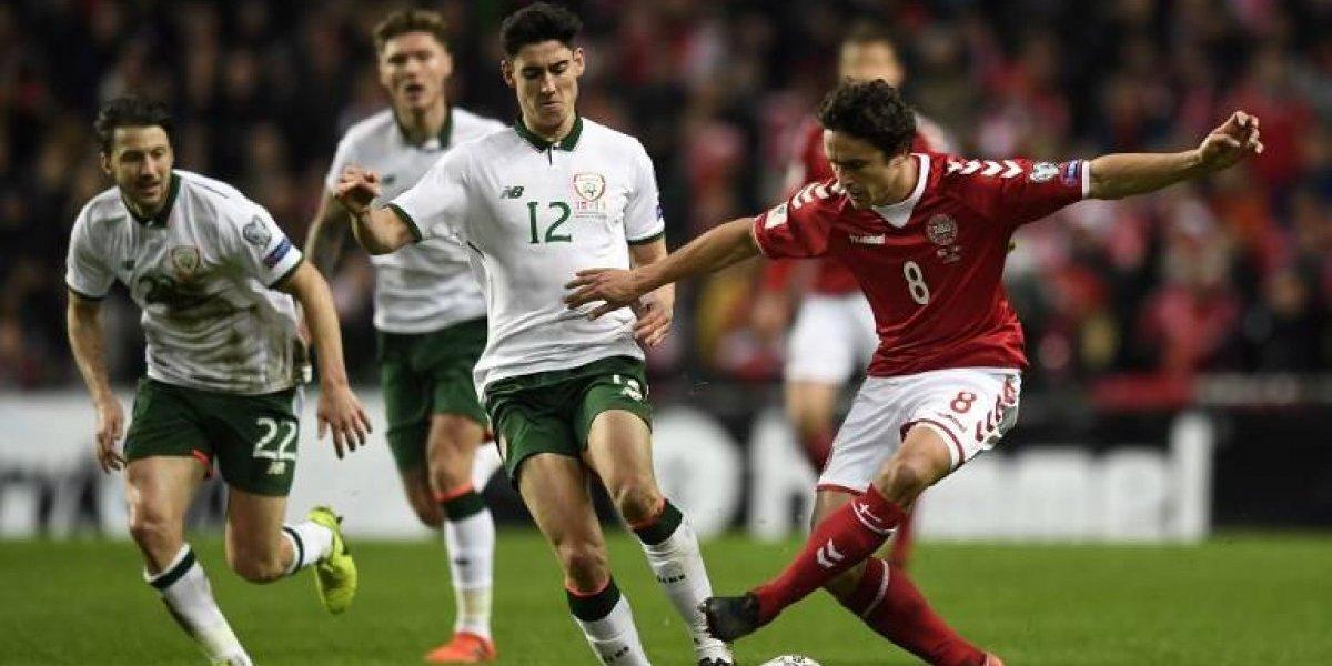 Dinamarca e Irlanda empataron y decidirán su paso a Rusia este martes
