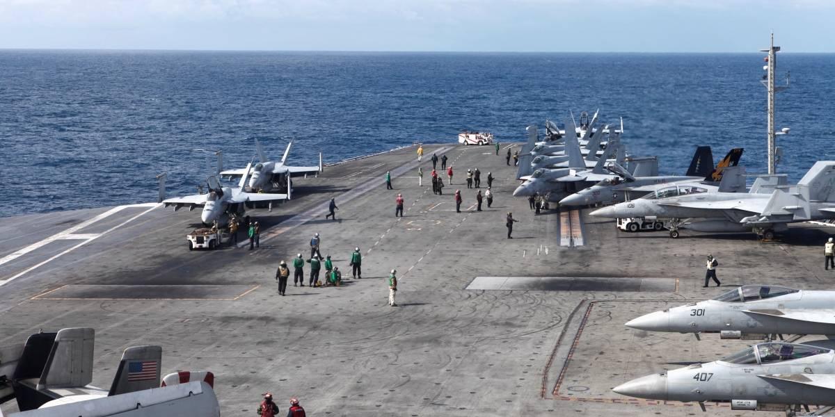 Em demonstração de força, EUA e Coreia do Sul realizam exercícios militares