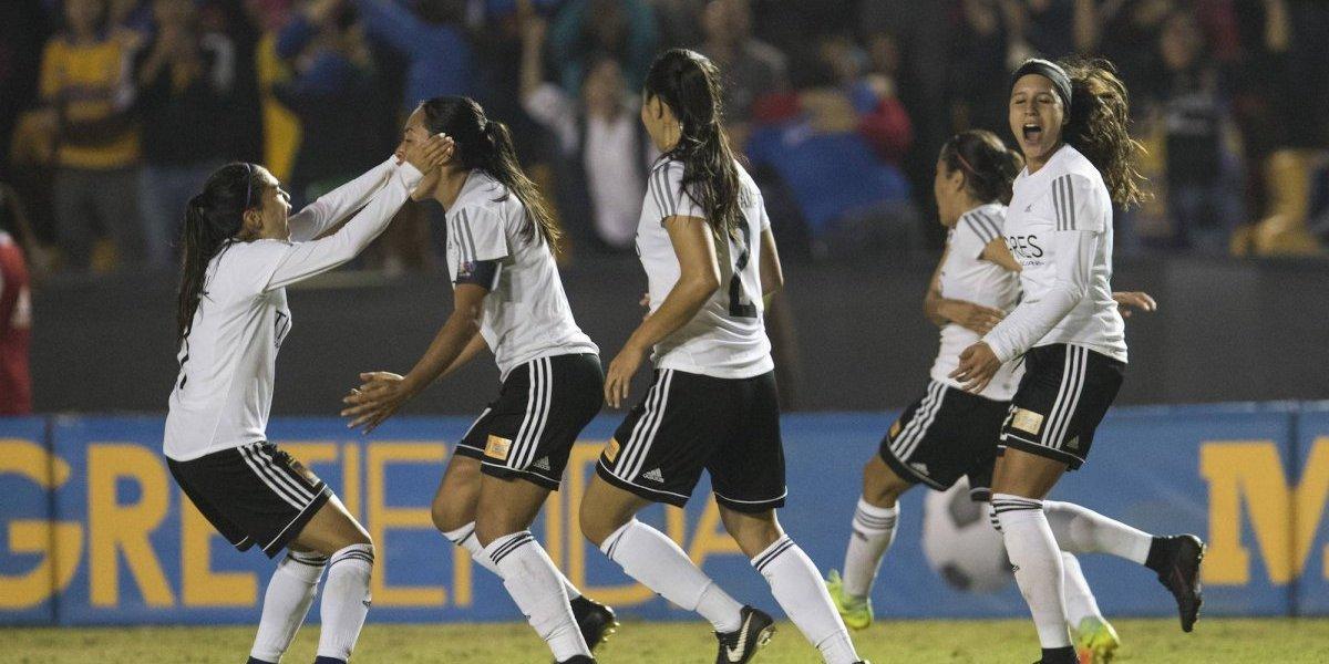 Golazo por parte de Liliana Mercado en partido frente a Pachuca