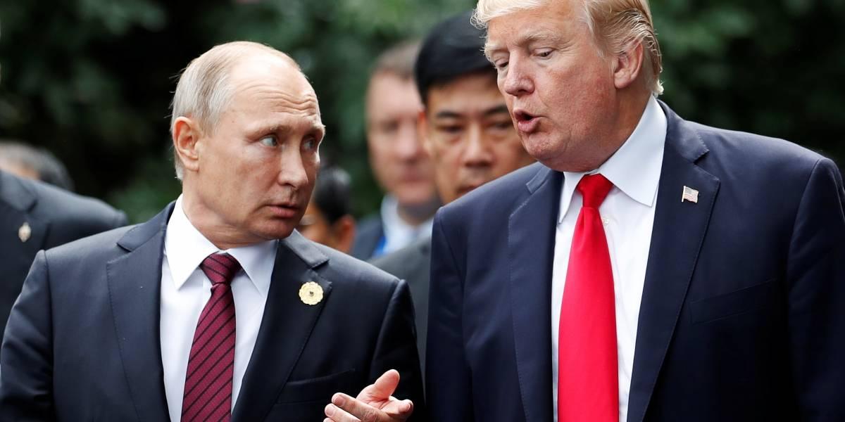 Creio que a Rússia não interferiu na eleição de 2016, diz Trump