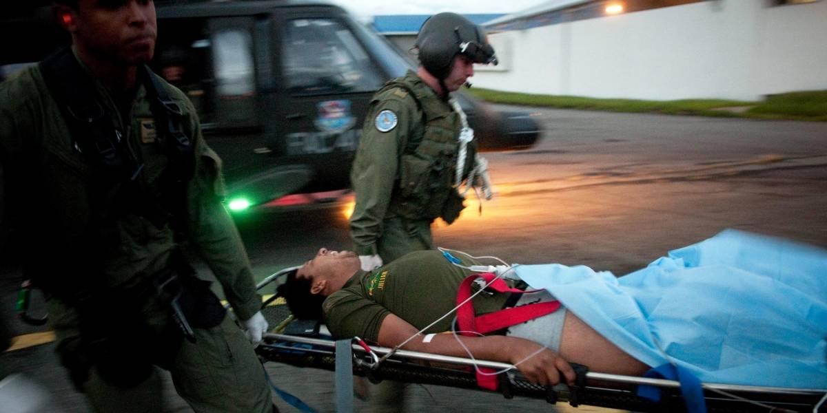 Campesino resultó herido por la explosión de una mina antipersonal