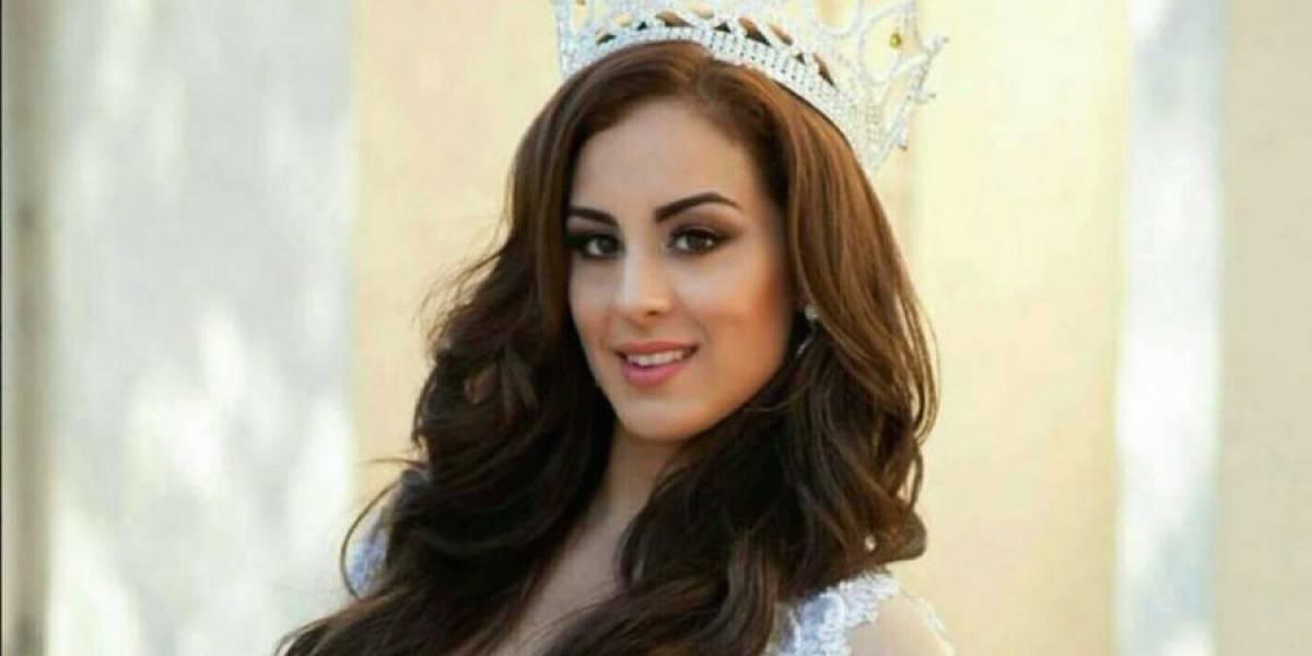 Revelan las imágenes del accidente donde murió reina de belleza mexicana