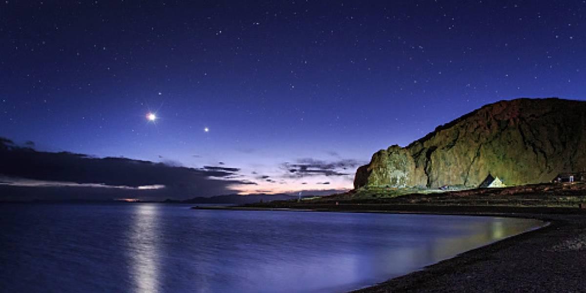 Este lunes se observará la conjunción de Venus y Júpiter