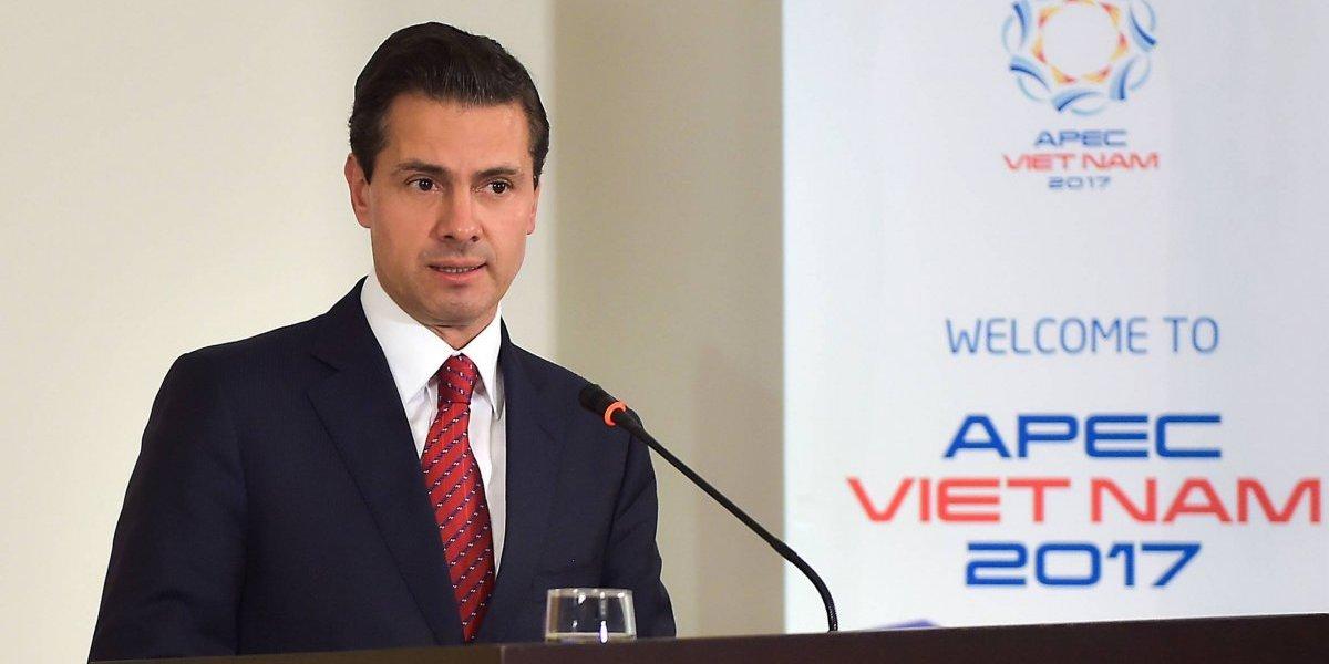 El TPP11 está en ruta hacia adelante, subraya Peña Nieto