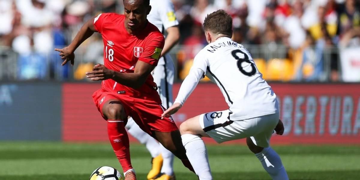 Perú empata frente a Nueva Zelanda y mantiene en suspenso su clasificación al Mundial de Rusia 2018