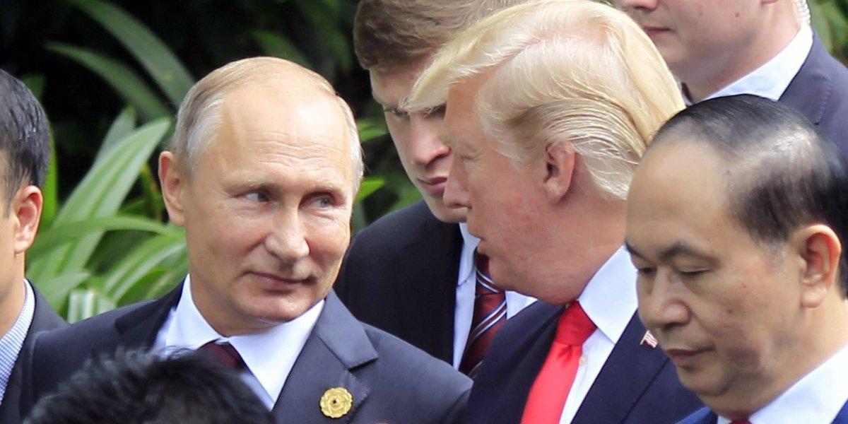 Putin dice que no interfirió en las elecciones y le creo: Trump