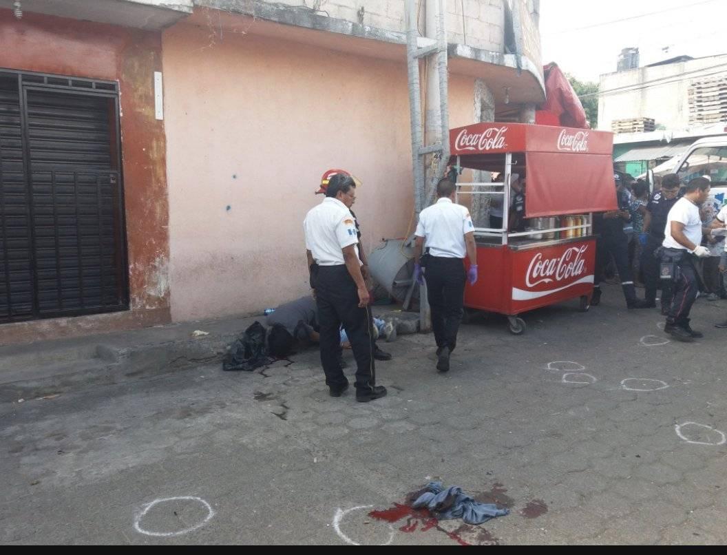 Ataque armado en mercado de Villa Nueva